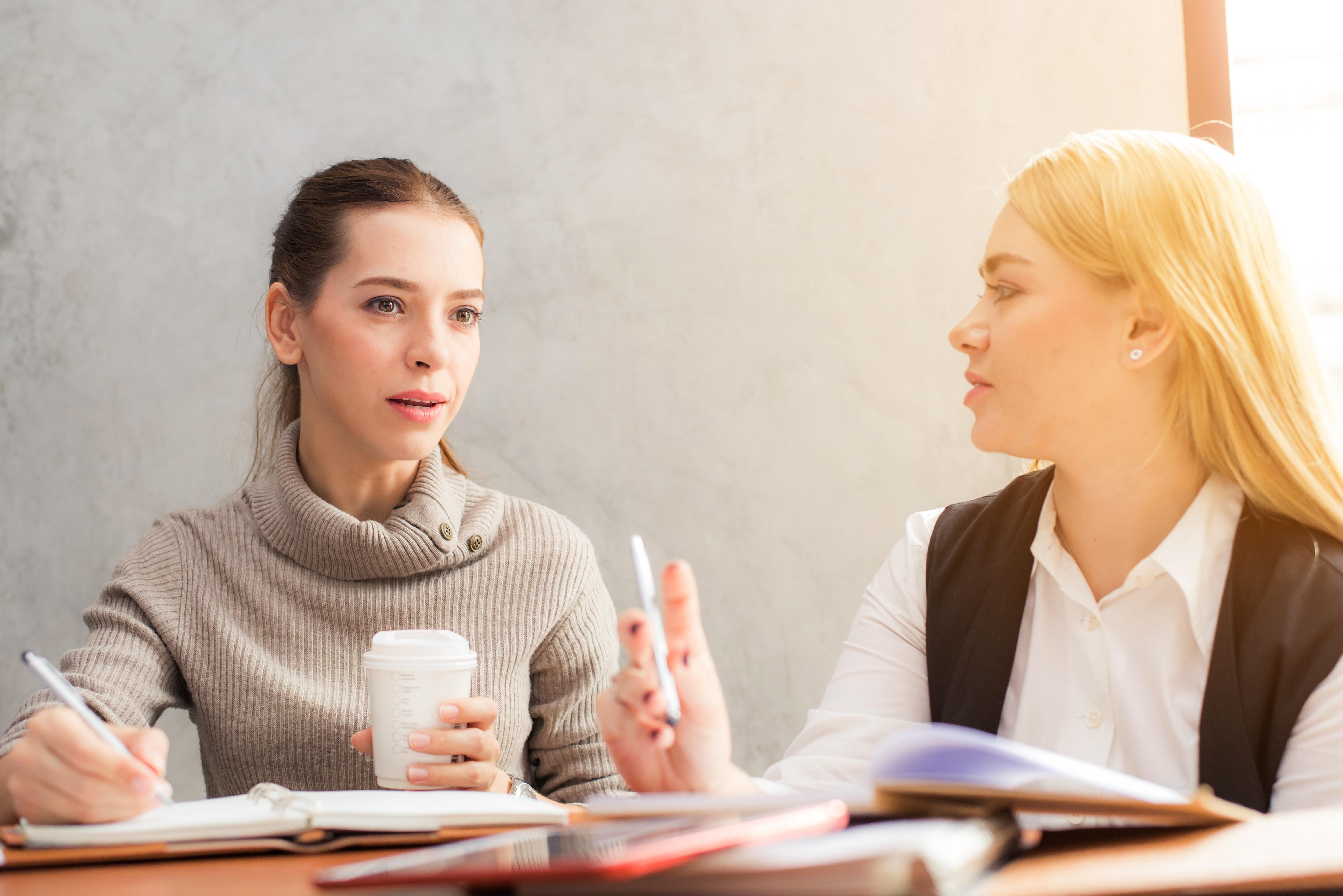 beautiful-brainstorming-businesswomen-601170